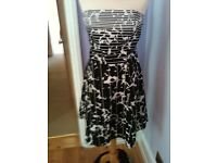 LOVELY new look dress SIZE 12-14 IDEAL PROM WEDDING GUEST RACES ETC MINT