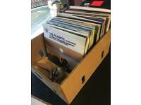 Box Of Old LP Records Opera Symphonys Composers Orchestral Etc PENDING SALE