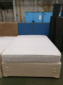 Double used base with matching mattress