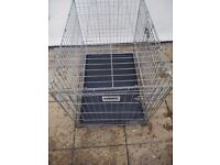 Dog cage. Travel cage.savic cage foldable