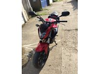 EXCELANT HONDA CB500F 2016 FOR SALE VERY LOW MILS 1400 ONLY.BARGINE.......!