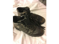 Size 6 (5) Women's Walking/Hiking Boots - Blacks Brown Leather