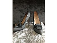 LK Bennett Ladies Size 39 Maida black or Grey choice shoes