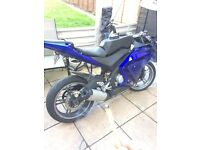 Yamaha yzf r125 breaking