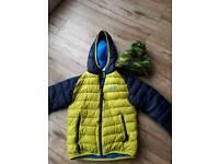 Boys Jack Wolfson coat and hat