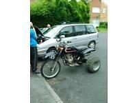 Honda cb trike swap