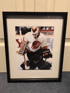 Vancouver Canucks Kirk McLean signed and framed photo
