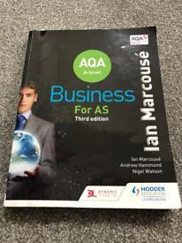 AQA A LEVEL BUSINESS BOOK HODDER