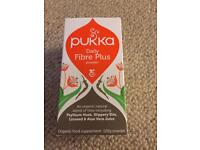 PUKKA Daily Fibre Plus powder 120g. New Sealed