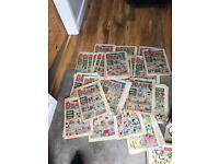 60 Beano comics 1980-1982