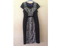 Two Beautiful size 14 Dresses contemporary look RRP £200.00