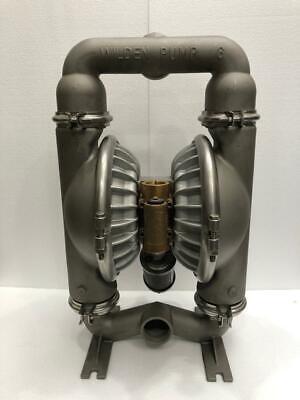 Wilden Pump 8 Stainless Steel Double Diaphragmtransfer Pump Teflon Diaphragm