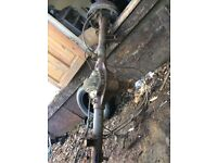 2007 rear axle complete with all cables