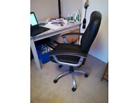 Faux leather office / computer chair