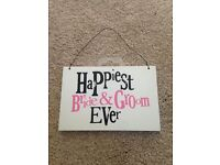 Wedding items from £1
