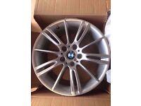 Bmw Mv3 Genuine Alloy Wheel FRONT 8j SINGLE WHEEL CAN POST (1 wheel)