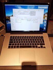 Early 2013, 15 Inch Macbook Pro Retina 8GB RAM 256 GB HD