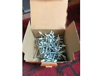 Box of 100 x SPIT C9-90 90mm nails and SPIT 100 x Cal 6 3/10 Safety Cartridges Red 6 Very Strong