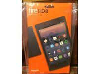 Amazon Kindle Fire HD 8 (7th Generation) 32GB, Wi-Fi, 8in - Black New