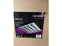 4x18w T8 light fitting new and boxed