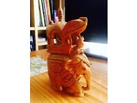 Indian| handmade| elephant| free delivery