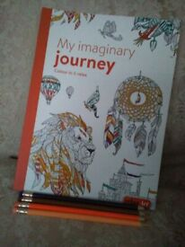NEW,THERAPY COLOURING BOOK