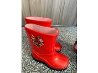 Wellies and boots