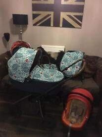 Mamas and Papas Mylo 2 Donna Wilson Travel system
