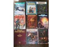Dungeons and dragons Books x9
