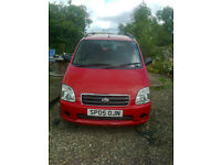 Suzuki Wagon R+ 2005. Good condition. Lovely family car. Recently serviced.