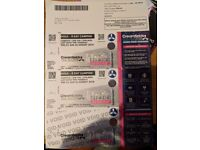 CREAMFIELDS TICKETS x2 4day Gold camping!