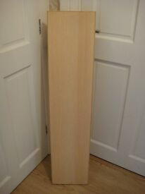 Shelf - Beech Effect - With L Brackets - Very Good Condition - Can Deliver
