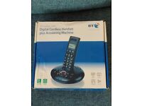 BT Graphite 1500 cordless phone with Answering Machine
