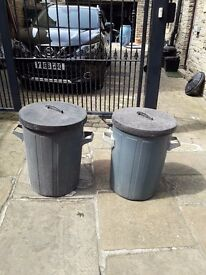 two dustbins