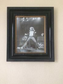 Large Antique Frame, Rock Music Picture.
