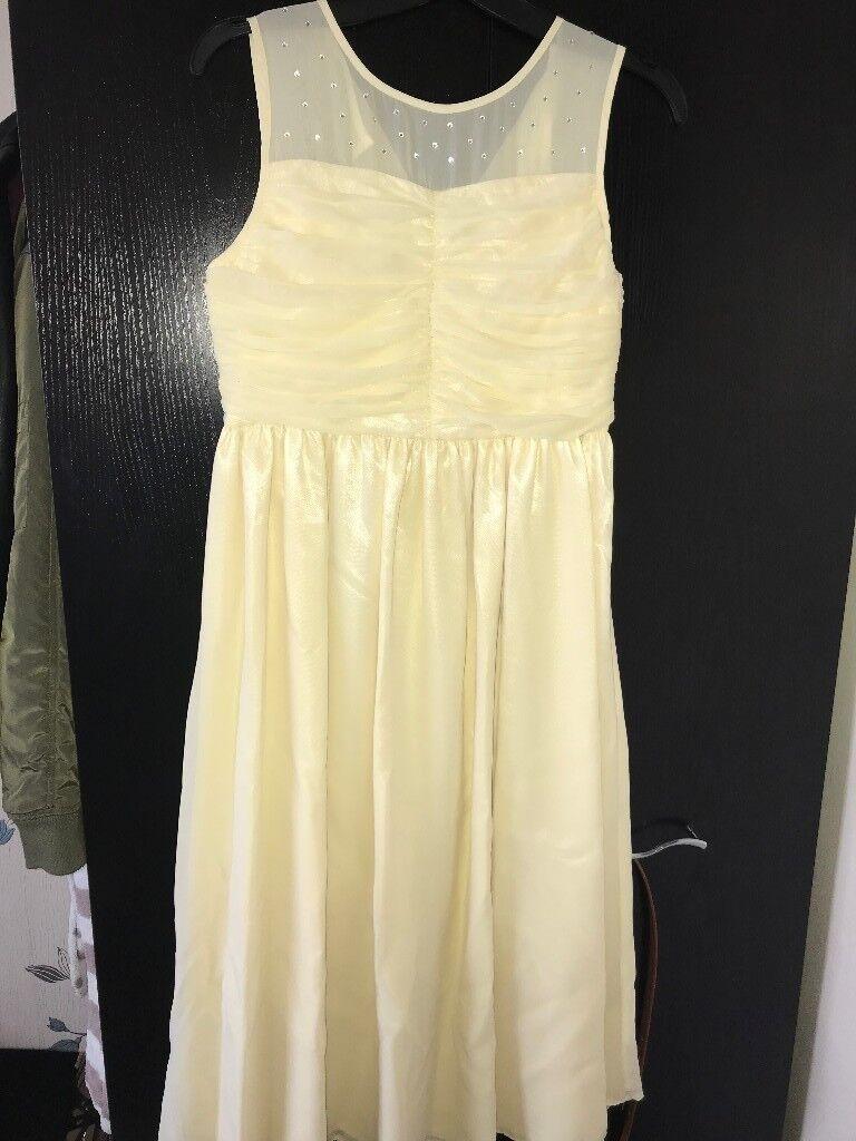 Lemon bridesmaid dress in sheffield south yorkshire gumtree lemon bridesmaid dress ombrellifo Images
