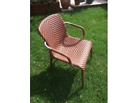 Gloster Garden Chairs - set of four