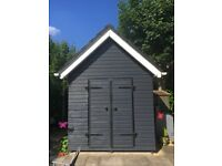 Bespoke shed/workshop