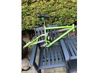 Rocky Mountain ETS-x frame with adjustable rear travel large 18 inch