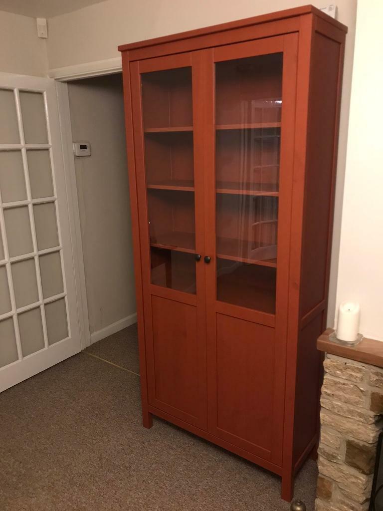 Ikea Hemnes Cabinet Glass Doors - As New Must Go   in ...