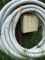 Insulated outdoor furnace pipe