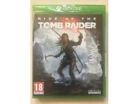 Rise of the Tomb Raider Xbox One game (Brand new)