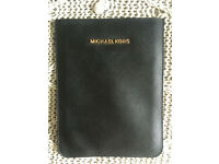 Michael Kors Black Saffiano Leather iPad Mini Sleeve Case