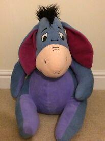 Eeyore soft toy, (winnie the pooh)