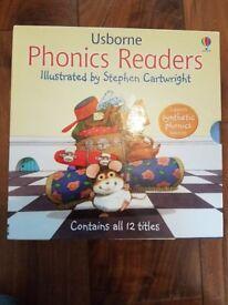 Usborne Phonics Readers Set (12 Books)