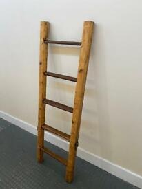 Terrific Vintage Quality Wooden Ladder