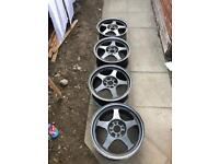 ALLOYS AND COILOVERS FOR CIVIC MB6