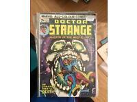 1974 doctor strange #4 comic