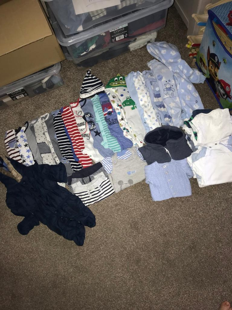 Boys First Size Baby Bundle