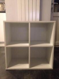 Small Cube Storage Unit Shelves Bedside?